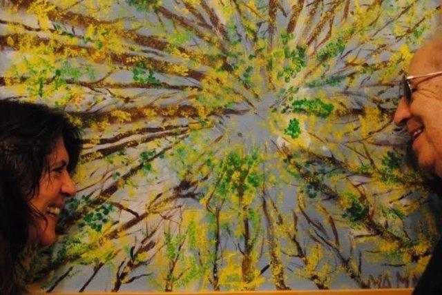Fundación Caja Inmaculada inaugura una exposición de pintura de Asapme Huesca.