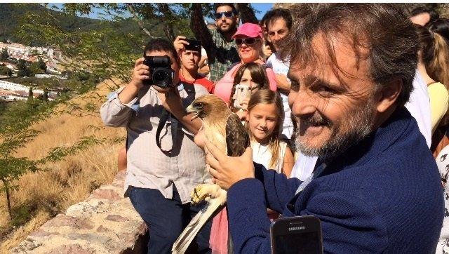 Celebración del Día Internacional de las Aves en Aracena (Huelva)
