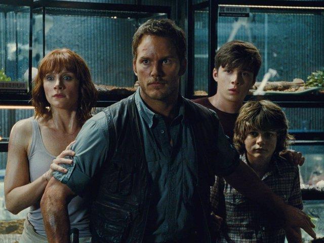 Escena de 'Jurassic World', dirigida por Colin Trevorrow