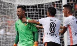 """Diego Alves: """"Cuando los penaltis que paro ayudan al equipo me alegran; hoy me dan igual"""""""