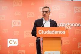 """Ciudadanos pide a PP y PSOE un """"acuerdo de mínimos"""" tras la marcha de Sánchez"""
