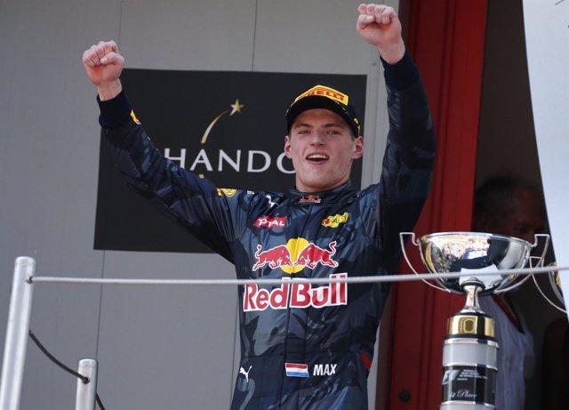El piloto holandés Max Verstappen