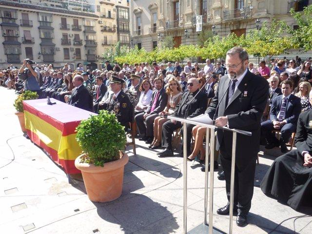 Acto del Día de la Policía en Jaén