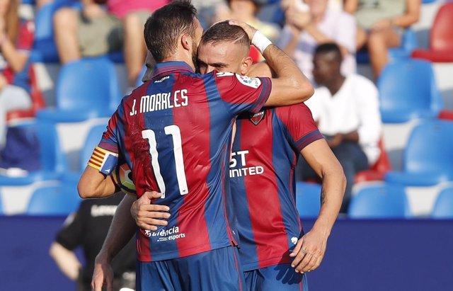 El Levante afianza el liderato y el Girona derrota al Reus