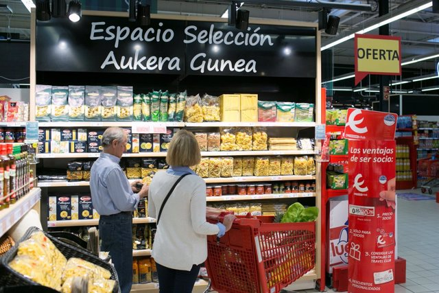 Eroski, compras, supermercado