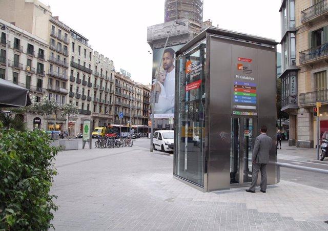 Estación Pl.Catalunya de FGC
