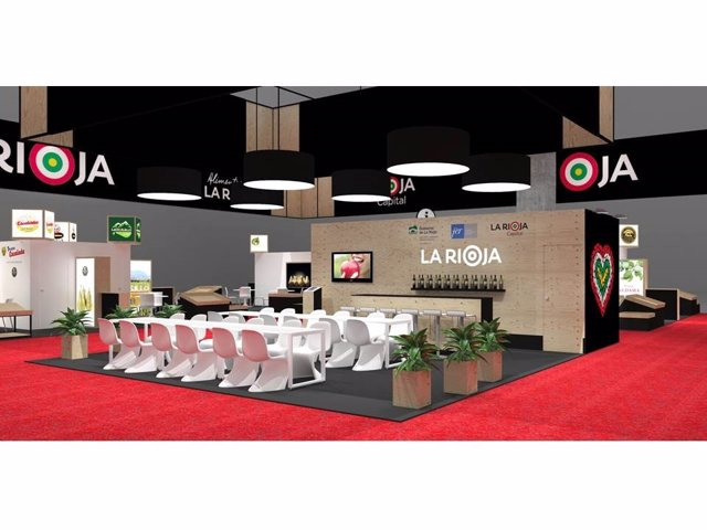 Stand de La Rioja en  Fruit Attraction