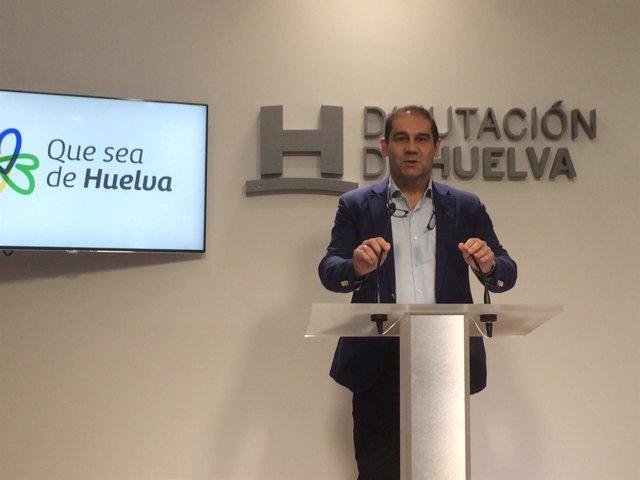 José Luis Ramos, vicepresidente Diputación y alcalde de Jabugo