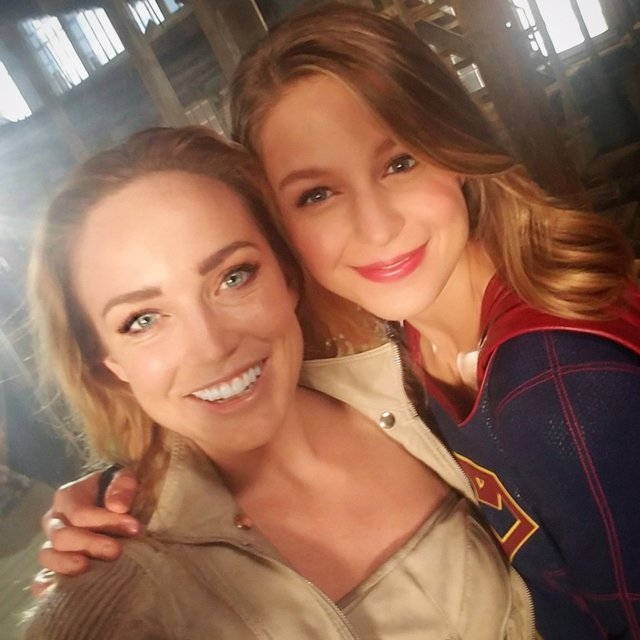 White Canary y Supergirl