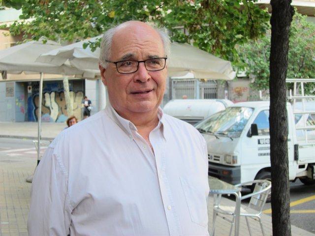 El líder de SíQueEsPot, Lluís Rabell