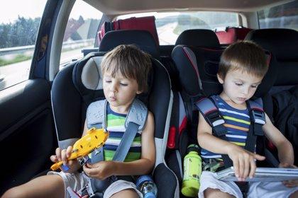 Un 28% de los niños de entre 5 y 12 años no usa silla especial en el coche