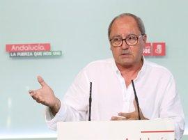 "PSOE-A: El no a Rajoy ""no ha variado"""