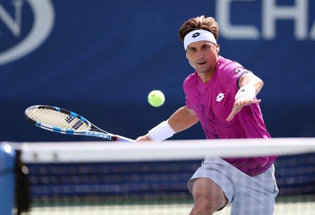 David Ferrer en el US Open