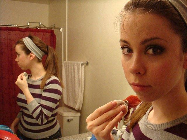 Maquillaje, adolescente