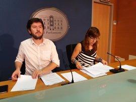 Podemos pide a los diputados del PSOE balear que se opongan a una posible votación de investidura de Rajoy