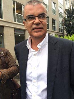 El delegado del Gobierno en Galicia, Santiago Villanueva.