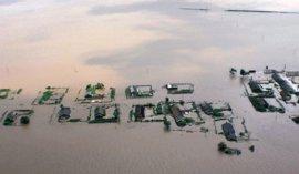 Las fuertes inundaciones en Corea del Norte afectan ya a 600.000 personas