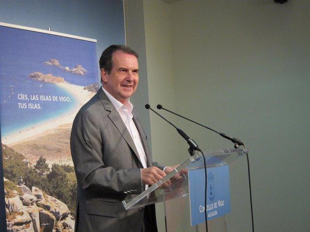 El alcalde de Vigo, Abel Caballero