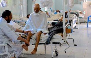 Heridos atendidos por MSF en Afganistán