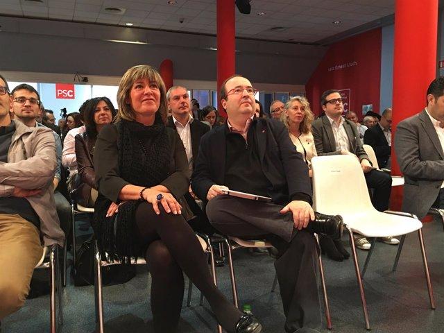 Núria Marín, Miquel Iceta (PSC)