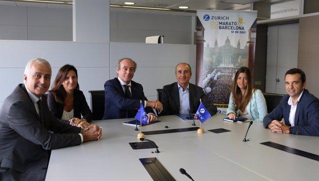 Zurich Seguros renueva su acuerdo como patrocinador de la Zurich Marató