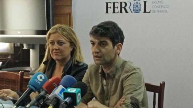 Jorge Suárez y Beatriz Sestayo, bipartito de Ferrol