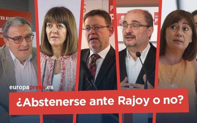 ¿Abstenerse Ante Rajoy O No? Esto Es Lo Que Han Dicho Federaciones Del PSOE