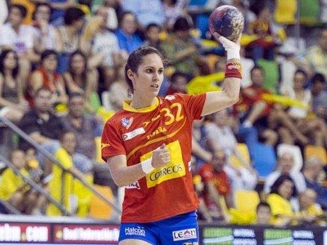 Mireya González Guerreras selección española balonmano femenino