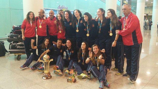 Selección española femenina hockey patines