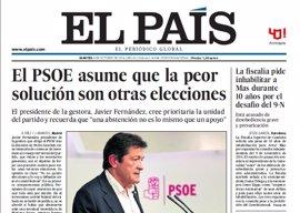 Las portadas de los periódicos de hoy, martes 4 de octubre de 2016