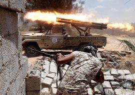 Mueren 55 miembros de Estado Islámico y ocho soldados en los últimos combates en Sirte