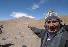 Evo Morales prevé invitar a la comunidad internacional a visitar el polémico Silala
