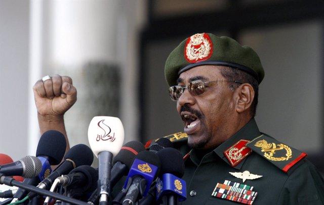 El presidente de Sudán, Omar Hasán al Bashir