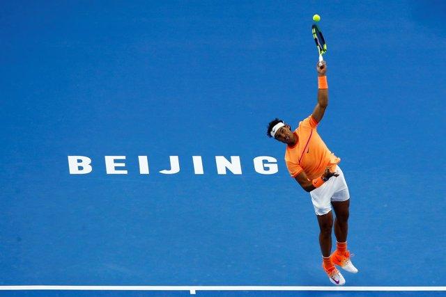 Nadal en el torneo de Pekín
