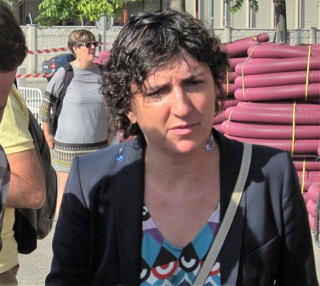 La concejal del PSOE, Lola Ranera