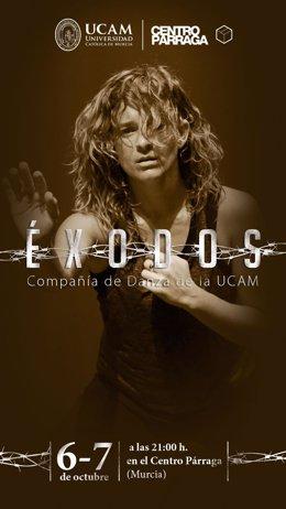 Árraga De Murcia Recibe A La Compañ Ía De Danza De La UCAM Con El Estreno De 'Éx
