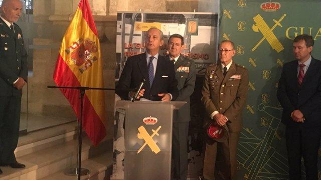 Director Guardia Civil, habla sobre Diana Quer.