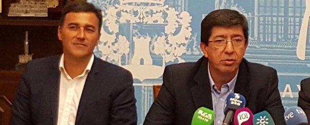 Carlos Hernández White, Juan MArín y Juan Carlos MAldonado MIJAS