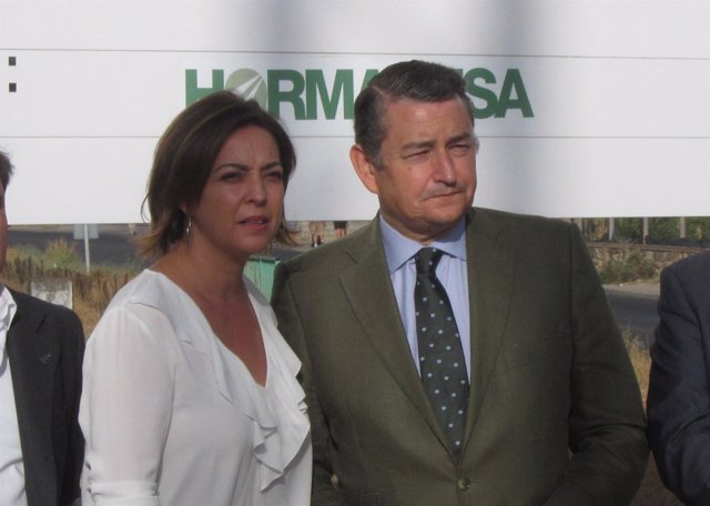 Antonio Sanz con Isabel Ambrosio