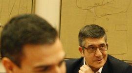 Patxi López no contempla una división en el PSOE en una sesión de investidura