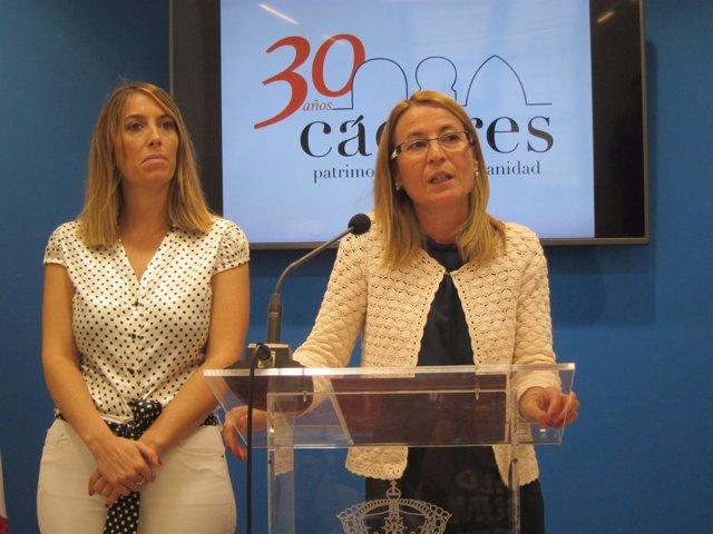 Elena Nevado y María Guardiola