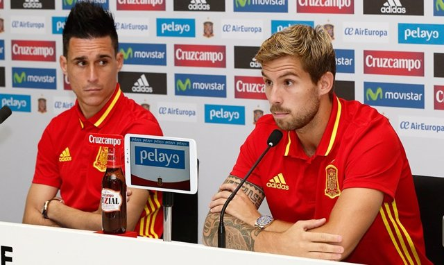 Callejón y Martínez en rueda de prensa