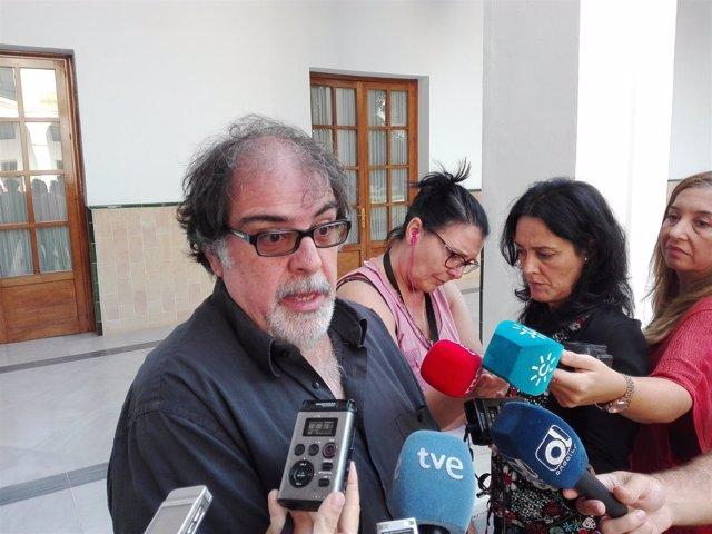 Jesús Romero, hoy ante los medios