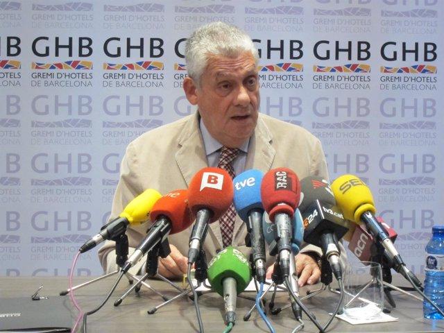Jordi Clos, presidente del Gremio de Hoteles de Barcelona