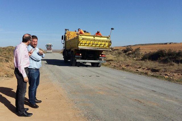 Soro presenta proyectos de mejora de la carretera A-228 entre Gúdar y Camarillas