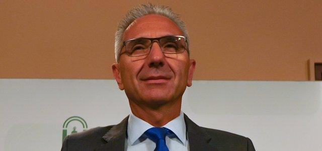 El portavoz del Ejecutivo andaluz, Miguel Ángel Vázquez