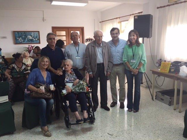 La Residencia Asistida homenajea a sus residentes de mayor edad.