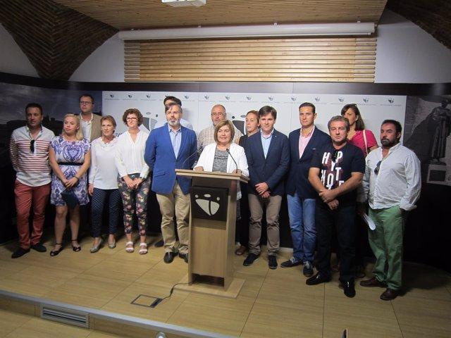 Presentación de la estrategia DUSI en la Diputación de Cáceres