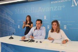 Marbella pide mantener la pasarela que se habilitó para la Vuelta a España