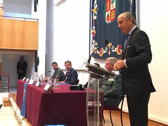 Fernández de Mesa en la Universidad de Burgos.
